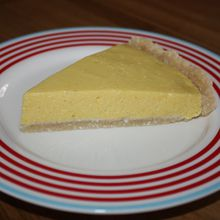 Incroyable tarte au citron... crue