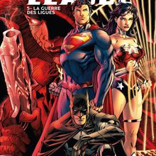 Justice League #5: La guerre des ligues