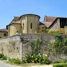 Collégiale Saint Barthélémy , Pimbo ( Landes 40 ) AA