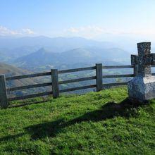 La Madeleine depuis Tardets Sorholus ( Pyrénées-Atlantiques 64 ) AA Rando