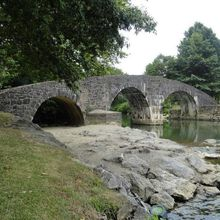 Roman bridge Ascain