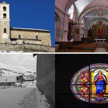 Eglise Saint-Véran ( Hautes-Alpes 05 ) AA