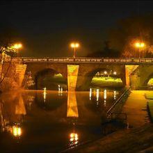 Ancien pont de Poissy (Yvelines 78) A