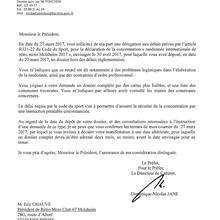 ANNULATION DE LA RANDO 2017