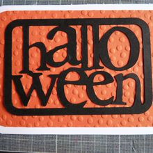 Cartes Halloween ;part1