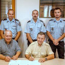 Signature d'une convention d'assistance mutuelle