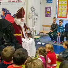 Saint Nicolas visite les écoles du RPI