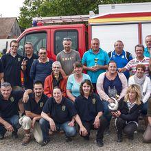 Concours de pétanque des pompiers