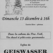 Chantons tous Noël avec Not'en Vrac