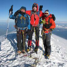 Anniversaire au sommet du Mont-Blanc
