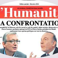 La Confrontation !  PCF/Medef .