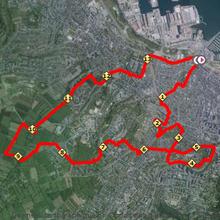 Profils & tracés GPS ..... trail CUC 2015