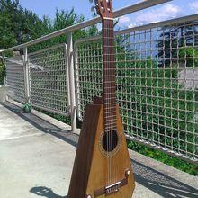 Haloween guitare après polissage