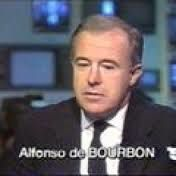 JEAN-CLAUDE BOURRET ANNONCE LA MORT DE ALPHONSE DE BOURBON - JOURNAL TÉLÉVISÉ LA CINQ 1989