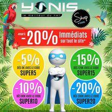 Début des Super Promos chez Yonis-Shop!