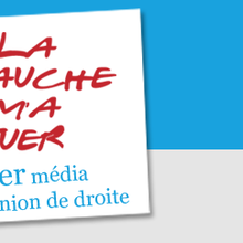 """Publication sur """"La gauche m'a tuer""""."""