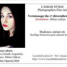 Exposition 17 décembre-14 janvier