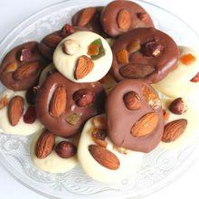 Recette des mendiants au chocolat