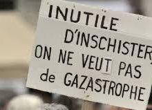 Rassemblement contre l'exploitation des gaz de couche à Volmerange-lès-Boulay du 19 au 21 août