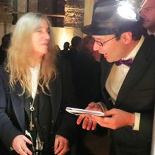 Baptiste Chantoiseau auteur HD en compagnie de... Patti Smith!