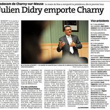 Elu Président de la Codecom de Charny