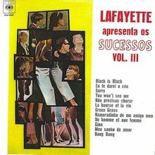 Apresenta os sucessos vol. 3 (1967) - Lafayette