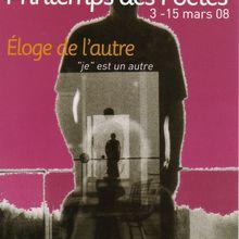 Printemps des Poètes - 2008 - Biot