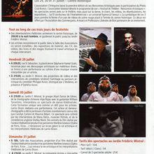 "Festival de Théâtre ""Les nuits de l'Artlequino 2011"" - Biotinfo"