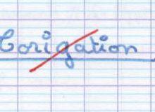 correction ou corrigation