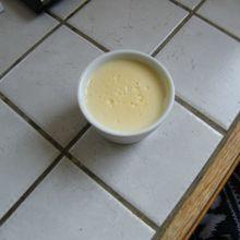 Crème au citron avec le companion moulinex