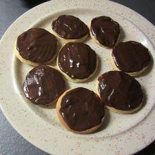 Petits sablés au chocolat (avec le companion ou pas)