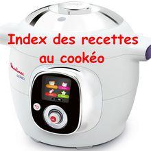Index des recettes cookéo