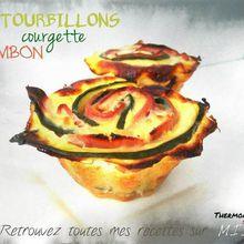 Recette tourbillon de jambon courgettes
