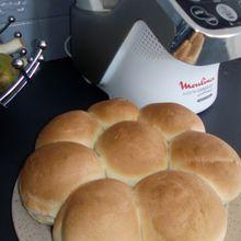 Recette pain express (sans pousse) au companion moulinex
