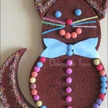 Des gâteaux en forme de chat