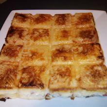 Croque cake aux lardons au companion (ou pas)