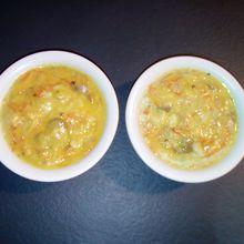 Cassolettes de poisson au curry au companion (ou pas)