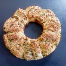 Recette de pain à l'ail (garlic bread) au companion ou pas