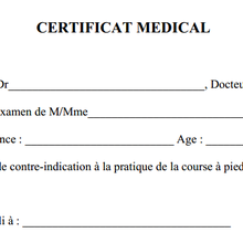 Le Certificat Medical utile ou pas?