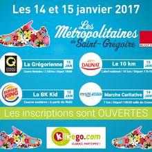 Résultat concours 10km de Saint-Grégoire 2017