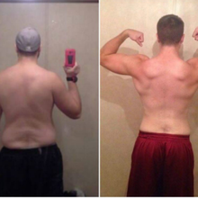 "Justin Walk's Fit Success Story: ""I feel better now than I did five years ago, and I actually feel younger…"""