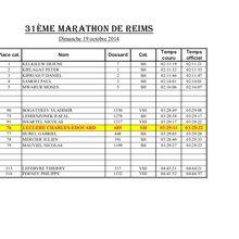 Charles-Edouard au Marathon de Reims