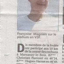Article Le Chatillonnais 13 mai