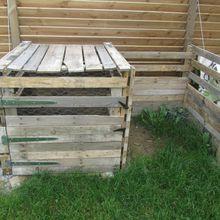 comment fabriquer un composteur en bois de palette