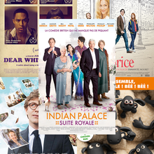 Shaun le mouton, Dear white people, Indian palace : suite royale, Le Talent de mes amis, et Caprice