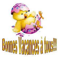 Les Vacances de Pâques !!!