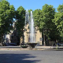 Fontaines, bassins et jets d'eau du 16ème arrondissement de Paris