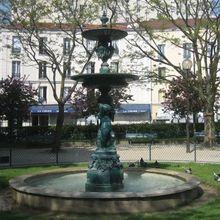 Fontaines, bassins et jets d'eau du 20ème arrondissement de Paris