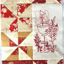 My secret garden quilt mystère