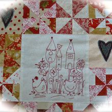 My secret garden quilt mystère paties 3 et 4